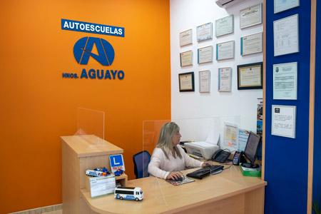 instalaciones autoescuela aguayo